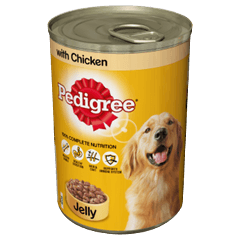 PEDIGREE Tin With Chicken in Jelly