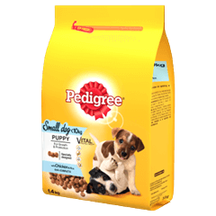 PEDIGREE® Puppy Small Dog Complete Dry With Chicken and Rice