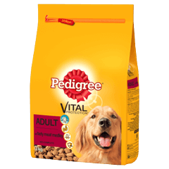 PEDIGREE® CompleteDry Tasty Meat Medley