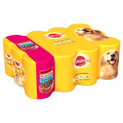 PEDIGREE Tins Mixed Selection in Loaf