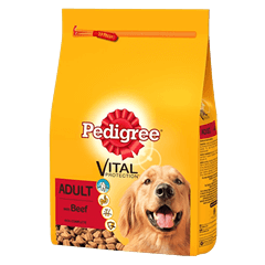 Pedigree Complete Dry With Beef