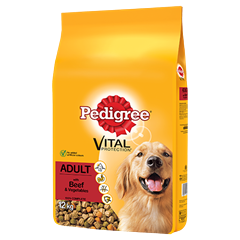 PEDIGREE Complete Dry With Beef & Vegetables