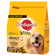Pedigree Complete Dry With Chicken & Vegetables