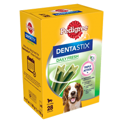 PEDIGREE® Dentastix<sup>®</sup> Fresh Medium 28x