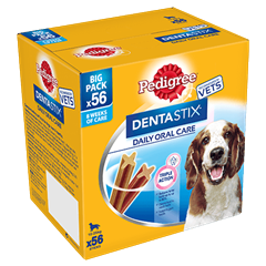 PEDIGREE® Dentastix<sup>®</sup> Medium 56x
