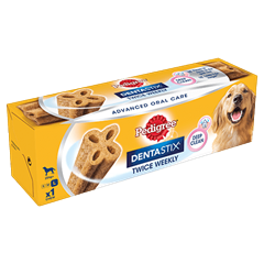 Pedigree Dentastix<sup>®</sup> Twice Weekly Large Dog Dental Chew 1pce