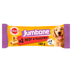 PEDIGREE Jumbone™ Beef and Poultry Medium 180g