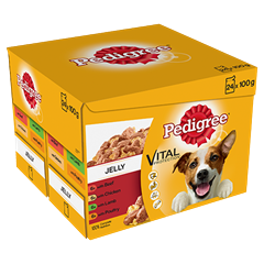PEDIGREE Pouches Favourites in Jelly