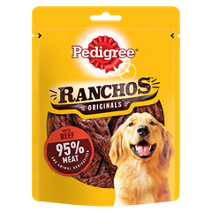 PEDIGREE Ranchos Dog Treats with Beef