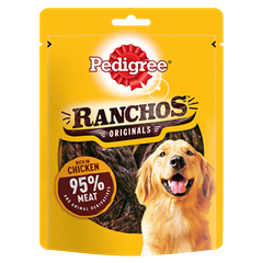 PEDIGREE® Ranchos Dog Treats with Chicken