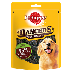 PEDIGREE Ranchos Dog Treats with Lamb