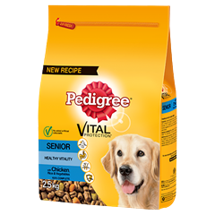 PEDIGREE Senior Complete Dry With Chicken, Rice & Vegetables