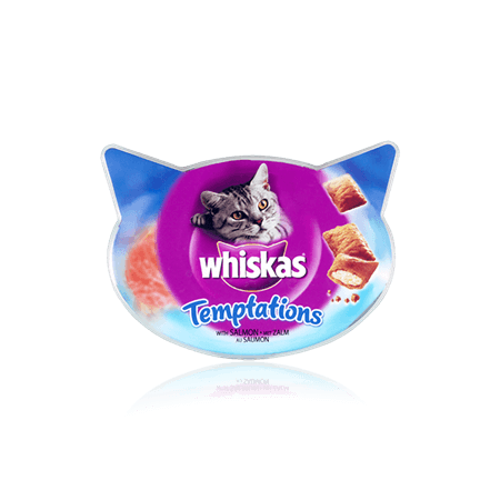 WHISKAS Temptations<sup>TM</sup> with Salmon 60g