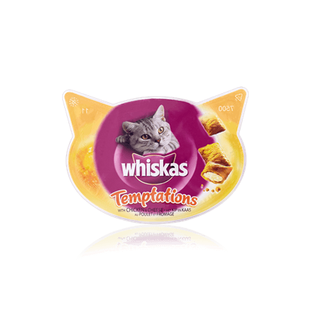 WHISKAS Temptations<sup>TM</sup> with Chicken and Cheese 60g