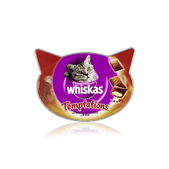 WHISKAS Temptations<sup>TM</sup> with Beef 60g
