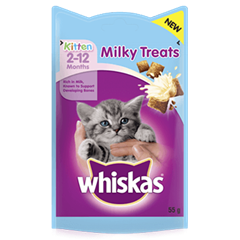 WHISKAS® Kitten Milky Treats 2-12 Months 55g