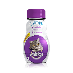 WHISKAS<sup>®</sup> Milk for Cats 200ml