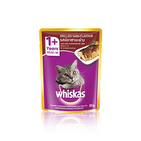 Whiskas<sup>®</sup> Pouch Adult 1+ Grilled Saba Flavour