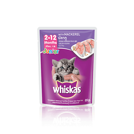 Whiskas<sup>®</sup> Pouch Junior Mackerel