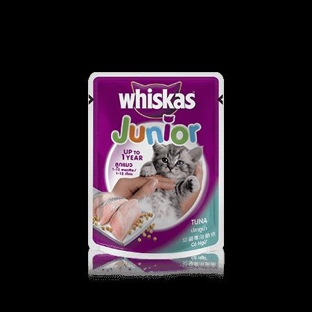 Whiskas<sup>®</sup> Pouch Junior Tuna