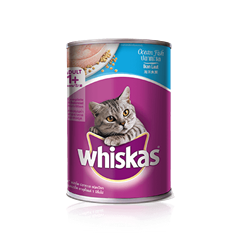 Whiskas Can Adult 1+ Ocean Fish