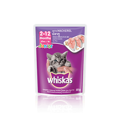 Whiskas Pouch Junior Mackerel
