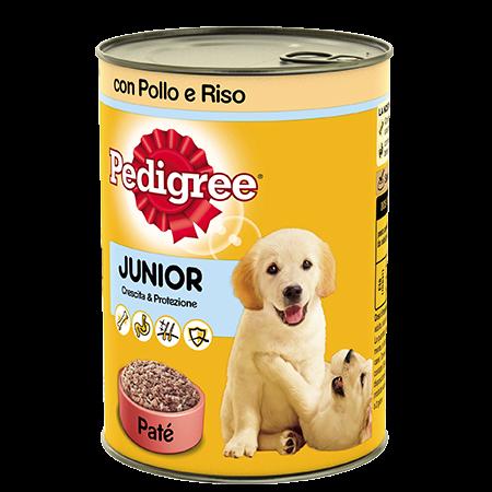 Lattina Junior con Pollo e Riso