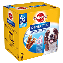DENTASTIX™ Medium x56 (180g)