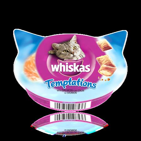 WHISKAS Temptations con Salmone