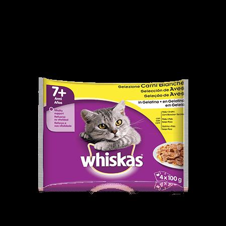 Whiskas<sup>®</sup> 7+ Selezione Carni Bianche