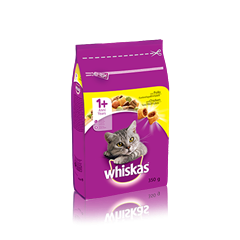 WHISKAS® 1+ Croccantini con Pollo
