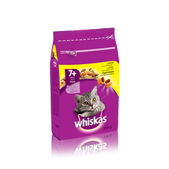 WHISKAS® Senior 7+ Croccantini con Pollo
