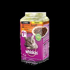 Whiskas® Pranzetti Carni e Verdure In Salsa 1+