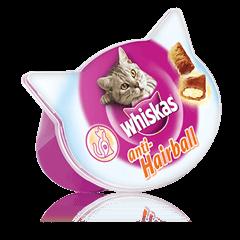 Whiskas<sup>®</sup> Anti-Hairball kačių skanėstai