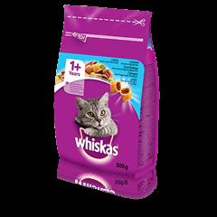 Whiskas<sup>®</sup> sausā barība ar tunci 300g