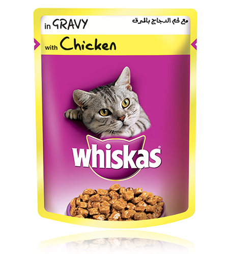 Whiskas® pouch with Chicken in Gravy