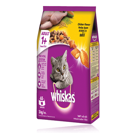 Whiskas® Dry Food Adult with Chicken – 3kg
