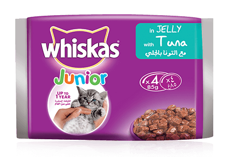 Whiskas® Kitten pouch 4pack with Tuna in Jelly