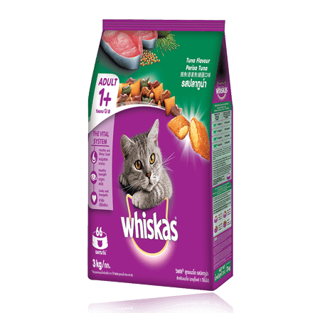 Whiskas® Dry Food Adult with Tuna - 3kg
