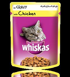 Whiskas® pouch with Chicken in Gravy