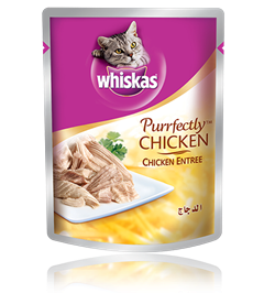 Whiskas® Purrfectly pouch with Chicken Entrée