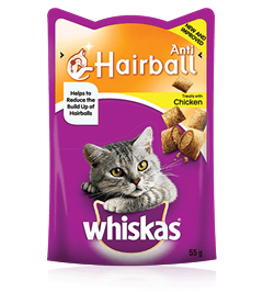 Whiskas® Anti-hairball Chicken