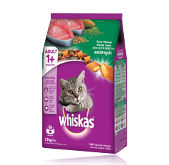 Whiskas® Dry Food Adult with Tuna - 1.2kg