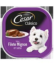 CESAR®  Sabor filete mignon en salsa.
