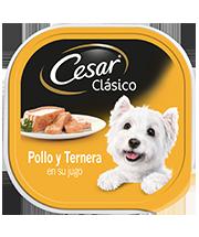 CESAR®  Pollo y ternera en su jugo
