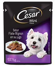CESAR® Mini Fillets Sabor Filete Mignon en su jugo