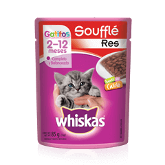 WHISKAS® Soufflé Gatitos Res