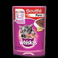 WHISKAS® Soufflé Gatitos