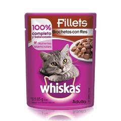 WHISKAS® Brochetas de Res