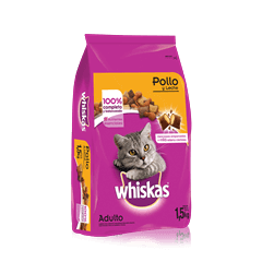 WHISKAS®  Pollo y Leche